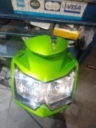 Farol com máscara da Kawasaki z 750