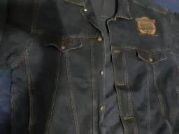 Jaqueta masculina jeans Tam. 50
