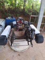 Kart chassis mini com motor rd revisado ou sem motor comprar usado  Santa Isabel