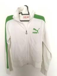 Jaqueta Puma Branco/Verde