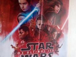 Mega Poster - Star Wars Os Últimos Jedi