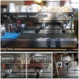 Maquina café expresso italiano profissional com vaporizador