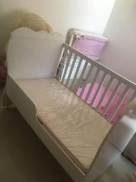 Vendo - berço mini cama - com o colchão- semi-novo