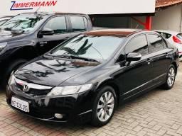 Honda Civic lxl 1.8 flex 2011 , bancos em couro