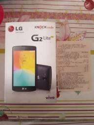 CX LG G2 Lite fone e nota fiscal