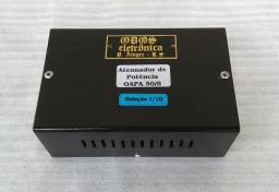 Atenuador de potência para amplificadores até 50W, 8 ohms.- 127 -