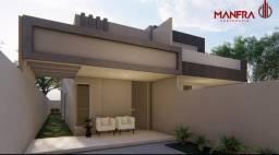 Casa nova 2/4 com 81,56m2  - Plano diretor Sul