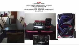 Título do anúncio: combo mesa cook caixa de som