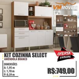 Título do anúncio: Raça Kit Armário Cozinha - Select Só Hoje Fazemos Entrega e Parcelamos no Cartão