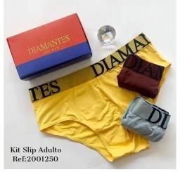 Título do anúncio: Cueca slip Diamantes
