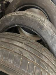 Título do anúncio: 2 pneus aro 16