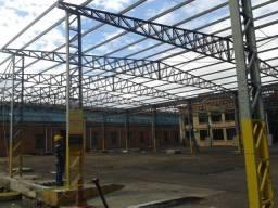 Estrutura Metálica Para Barracão e Garagem