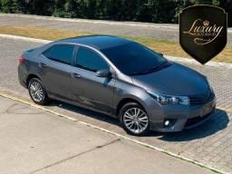 Título do anúncio: Toyota Corolla 2016 Altis Cinza com  Couro Bege