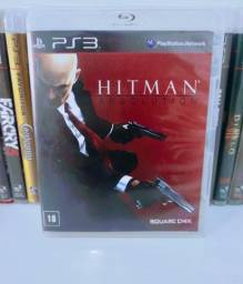 Título do anúncio: Hitman Absolution Jogo de PS 3 Game Original Midia Física Play 3