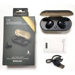 Título do anúncio: Y30 Fone De Ouvido Bluetooth 5.0 Mini-fone De Ouvido Sem Fio TWS