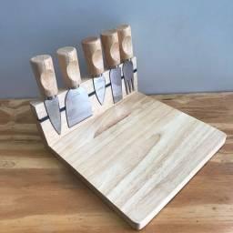 kit queijo( com imã) 6 peças