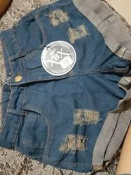 Título do anúncio: Short Jeans de várias cores