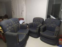 Jogo de sofá por 450,00