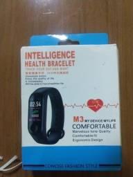 Smartband Bluetooth M3 R$45 (50 cartão)*30 dias garantia