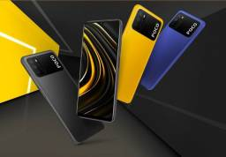 M-TECH - Xiaomi Poco M3 128gb e 64gb Novos Lacrados - Parcelamos - Entregamos