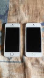 2 iphones com defeito