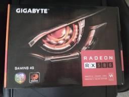 Título do anúncio: Placa de vídeo RX 580 4GB