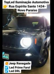 Led Prime +Led drl Jeep Renegade