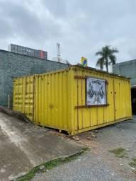 Título do anúncio: Container(pronto pra comércio )