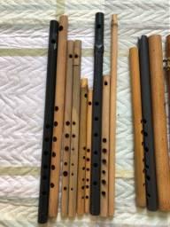 Título do anúncio: Flauta de bambu transversal Quena pife