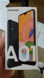 Samsung a01 32gb preto na Caixa