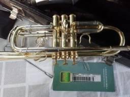 Trompete weril Weingrill & Nirschl DÓ 3 bocais