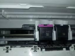 Vendo essa impressora + 2 cartuchos originais HP 664