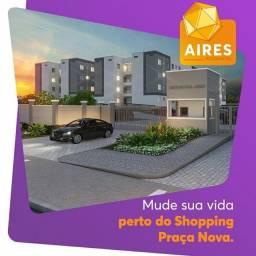 Título do anúncio: Em Araçatuba, Residencial Aires 5 tipos de Apartamento, 3 minutos do Shopping Praça Nova