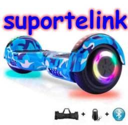 Hoverboard completo bolsa e bluetoof