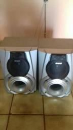 7vendo 2 caixas de som aiwa