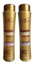Shampoo e condicionar Banho de verniz