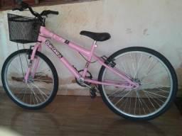 Bicicleta zera feminina com cestinha