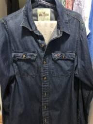 Camisa jeans Hollister original