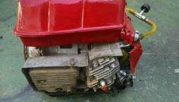 Motor gerador de energia 110volts movido a álcool