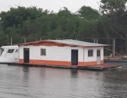 Vendo Casa Flutuante e lancha em Perfeito Estado