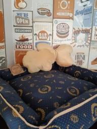 Kit cama pet Realeza (marinho)