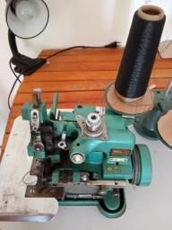 Máquina de costura orverloque semi industrial