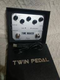Pedal delay Rowin Time Maker com tap tempo