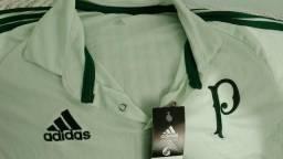 Camisa Palmeiras Polo Comissão Técnica 2643d1f1ab12f