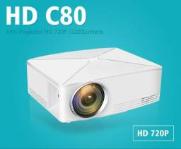 Projetor C80 - 2200 Lumens Resolução Hd Nativa
