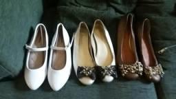 Sapatos para crianças e adolescentes/ adultos