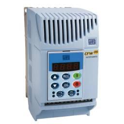 Inversor Frequência Weg 220V 2cv 7,3A Modelo CFW 0800 73B2024 PSZ