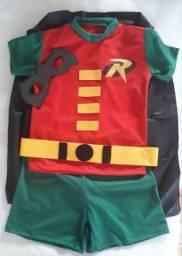 Fantasia Robin Infantil com capa comprar usado  São Paulo