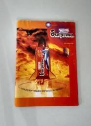Álbum Viagem Espacial Anos 90 Nestlé