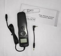 Controle remoto temporizador para Canon